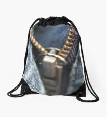 Zipper Drawstring Bag