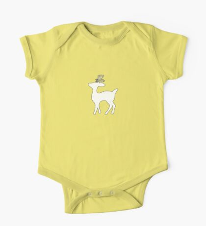 deer silhouette Kids Clothes