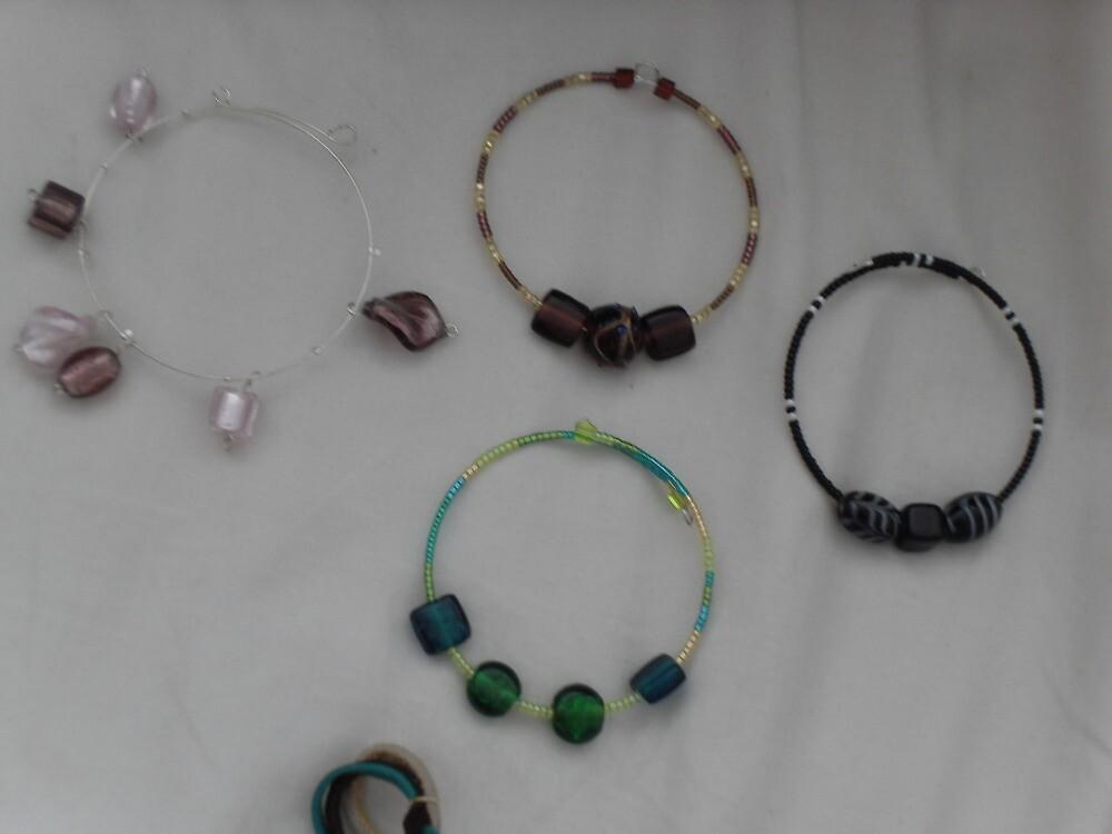 klimpt bracelets 1 - multi colours by sylversorceress