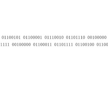 Learn to Code - Binary 1 by IKET