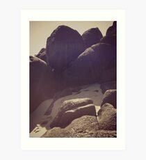 Coolie Rocks Art Print