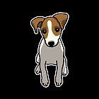 «Jack Russell Terrier, perro, dibujo» de nijess