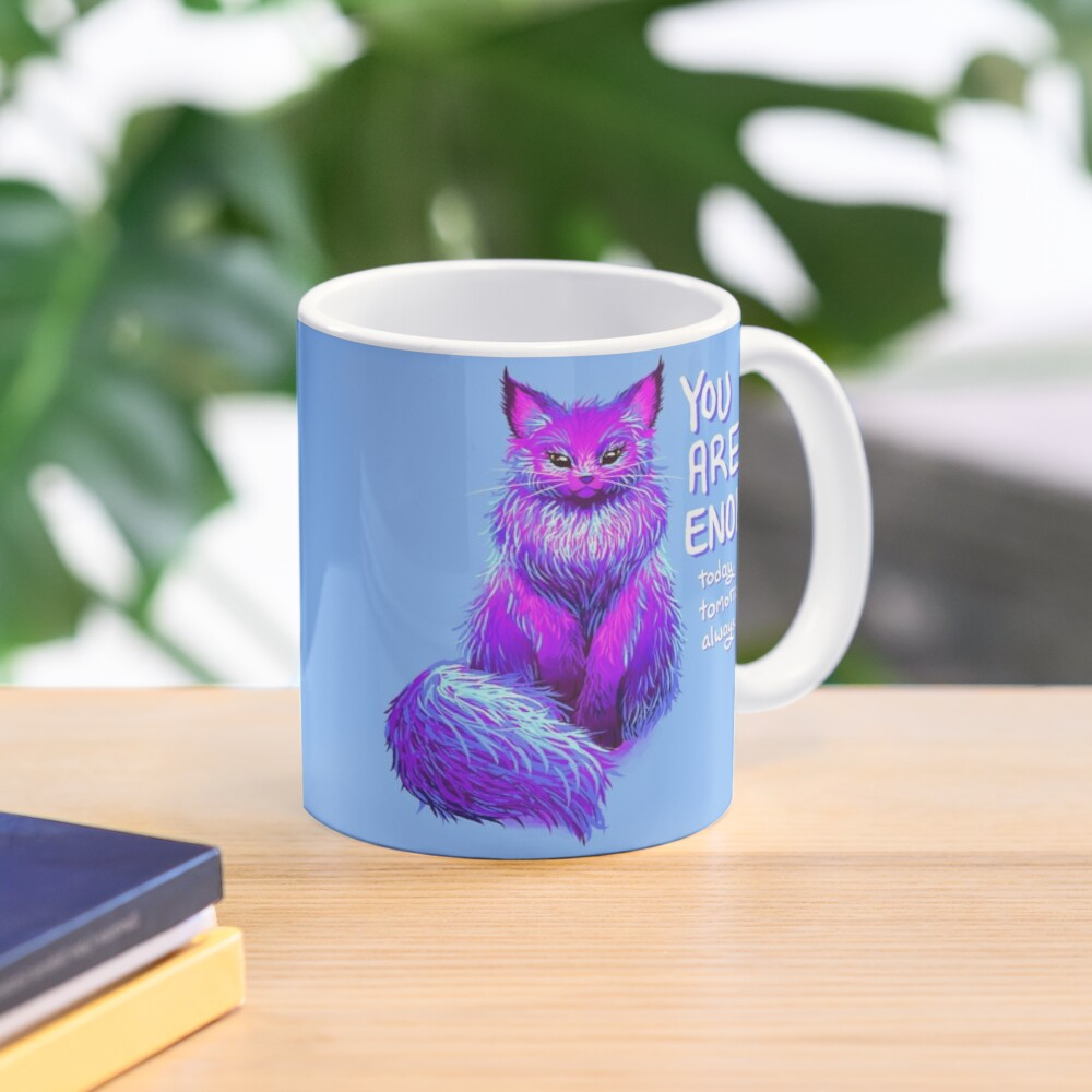 YOU ARE ENOUGH Magical Maine Coon Cat Mug
