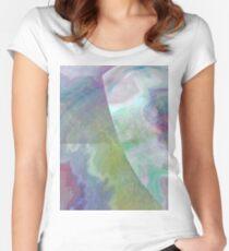 ryu-kyu-iro-inspired pattern Women's Fitted Scoop T-Shirt