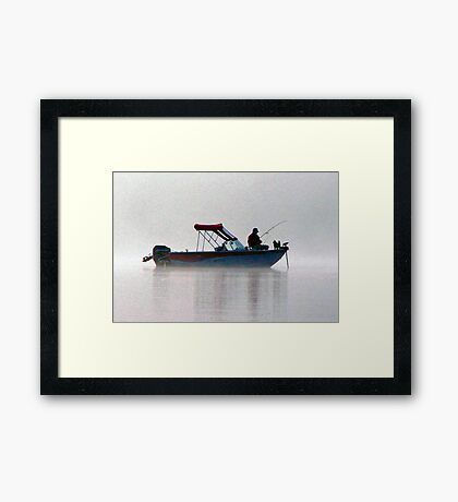 Have You Taken Your Boss Fishing Lately? Framed Print