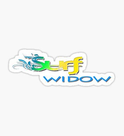 Surf widow Sticker