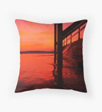 South Steps Throw Pillow