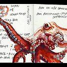 Sketchbook by Cameron Hampton