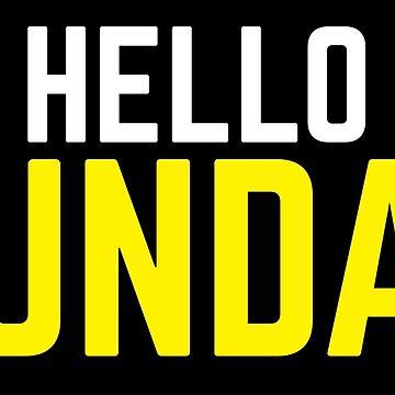 HELLO SUNDAY! by jazzydevil
