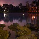 Foggy Dawn at Ringwood Lake #2 by Jason Green