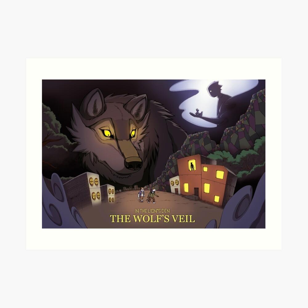A Stroll In The Wolf's Den  Art Print