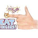 Katzenfinger mit Titel von Lavinia Knight