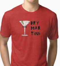 Dry Martini Camiseta de tejido mixto