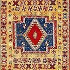 Ait Ouaouzguite Moroccan Berber Rug by Vicky Brago-Mitchell