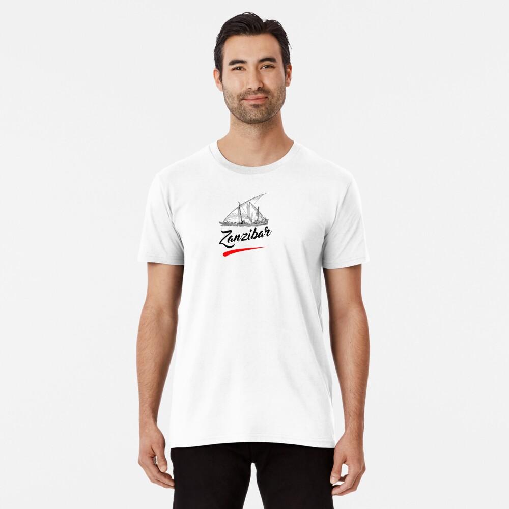 Zanzibar is paradise  Premium T-Shirt