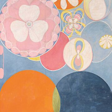 The Ten Biggest No 2 By Hilma Af Klint (FIRST ABSTRACT ARTIST) by historicalstuff