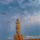 Lighthouse in Chania by Marylou Badeaux