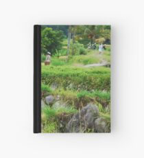 Balinese rural scene Hardcover Journal