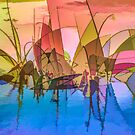 Colorful Grasses by Rosalie Scanlon