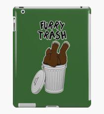 Furry Trash - Brown Bear iPad Case/Skin