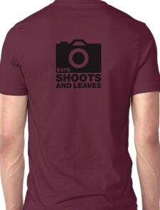 Eats, Shoots & Leaves... Unisex T-Shirt