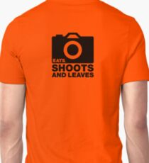 Eats, Shoots & Leaves... Unisex T-Shirt