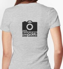 Eats, Shoots & Leaves... Women's Fitted T-Shirt