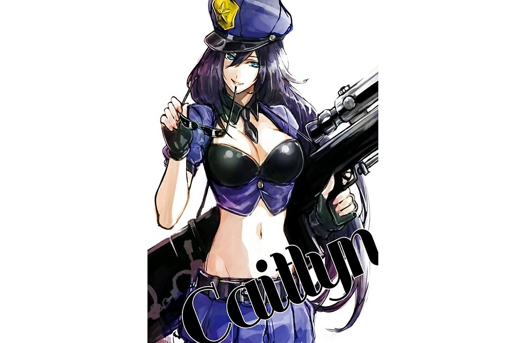 caitlyn - league of legend - officer caitlyn by Xkaido