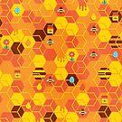 Honey Bees by no-eye-deer