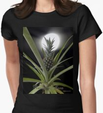 Pineapple Moon Women's Fitted T-Shirt