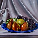 """Still Life - Fruit"" - Oil painting by Avril Brand"