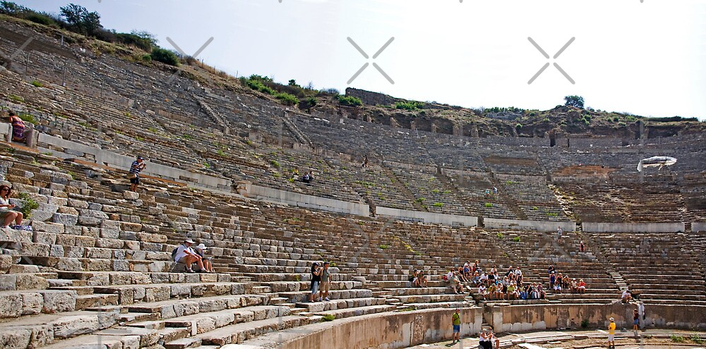 Ephesus Theatre by Tom Gomez