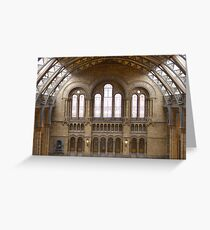 The Natural History Museum Greeting Card