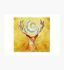 Spirit Stag Art Print