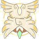 GODBIRDART Sticker by godbird
