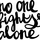 No One Fights Alone / Cancer Collection by likorbut