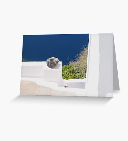 Stone Bowl Greeting Card