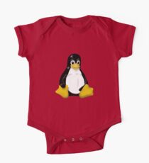 LINUX TUX THE PENGUIN KONTRA SIT One Piece - Short Sleeve