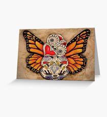 Monarch Sugar Tiki Greeting Card