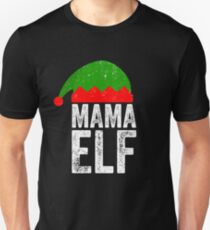 Mama Elf - Matching tee christmas Unisex T-Shirt