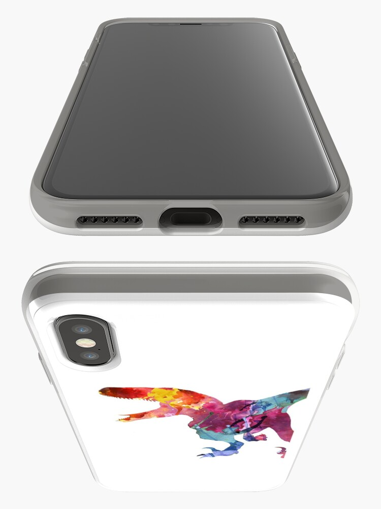 Vista alternativa de Funda y vinilo para iPhone Funk-o-Raptor