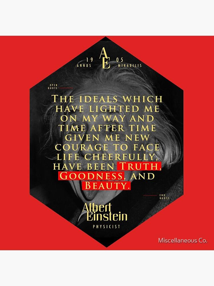 Cita de: Albert Einstein en Ideales - Carteles, pegatinas, regalos y camisetas de tasnim-saadon