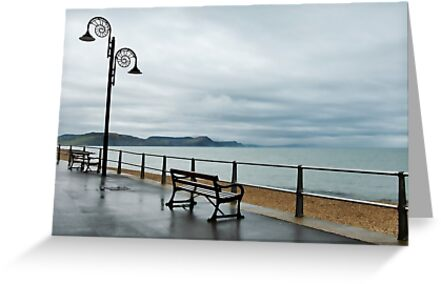 Empty Seats ~ Lyme Regis by Susie Peek