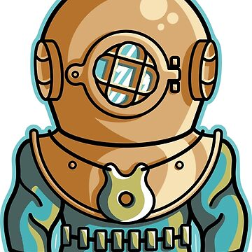 Cute Deep Sea Diver by freeves