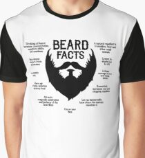 Beard Facts (black) Graphic T-Shirt