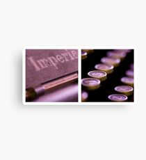 Imperial Diptych Canvas Print