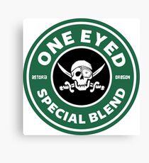 Die Goonies One Eyed Willy Special Kaffeemischung Leinwanddruck