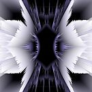 black and white 3d abstract art by haroulita