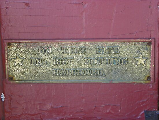 Nothing Happened! by MaryinMaine