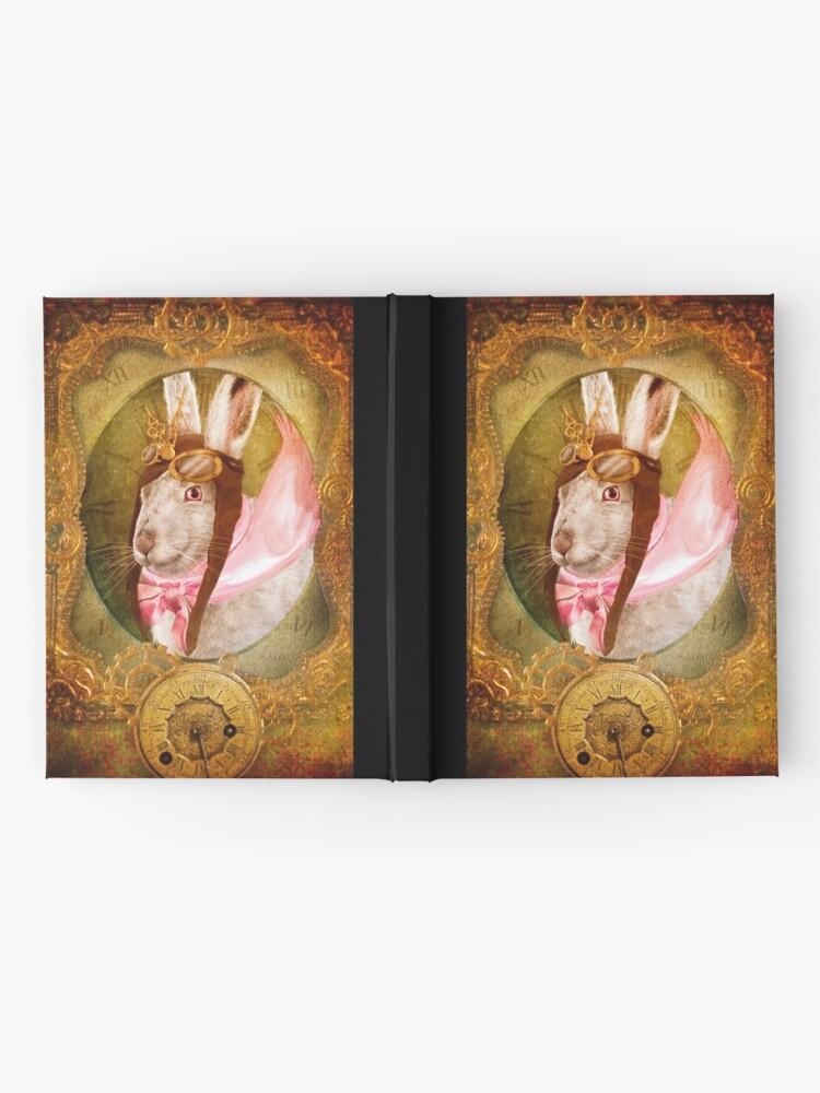 Alternate view of The White Rabbit Hardcover Journal